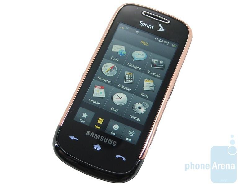 Samsung Instinct S30 has slightly more responsive touchscreen than the original Instinct - Samsung Instinct s30 Review