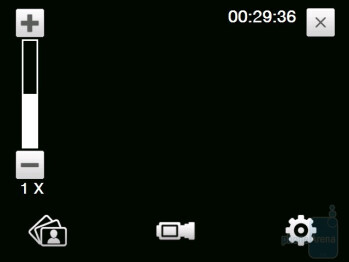 Camcorder interface - HTC Touch Diamond CDMA Review