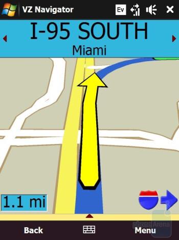 VZ Navigator - HTC Touch Diamond CDMA Review