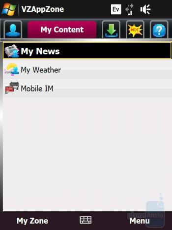 VZAppZone - HTC Touch Diamond CDMA Review