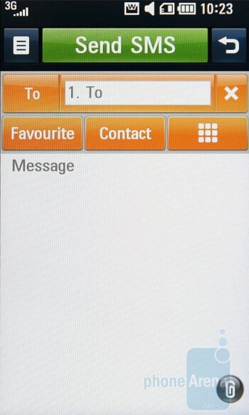 You can read all messages sent to or by a specific contact in threaded mode on the LG ARENA KM900 - LG ARENA KM900 Review