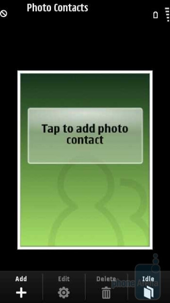 Photo contacts - Samsung OMNIA HD i8910 Review