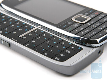We are more than pleased with the QWERTY keyboard on the Nokia E75 - Nokia E75 Review