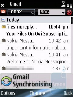 Nokia E75 is the first model of the manufacturer to come with Nokia Messaging preloaded  - Nokia E75 Review