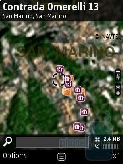Nokia E75 comes with preloaded Nokia Maps - Nokia E75 Review