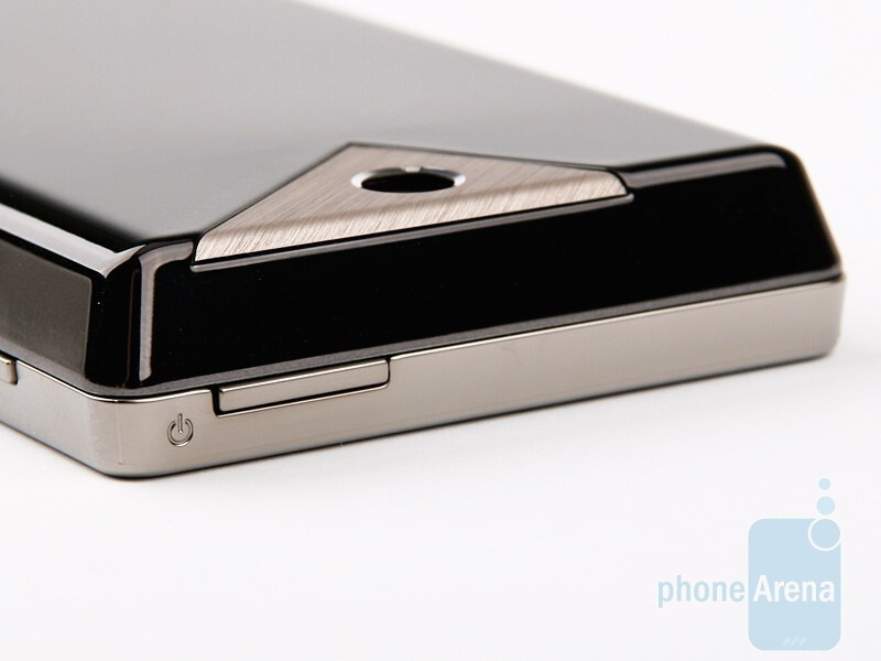 Left - The keys on the sides of the HTC Touch Diamond2 - HTC Touch Diamond2 Review