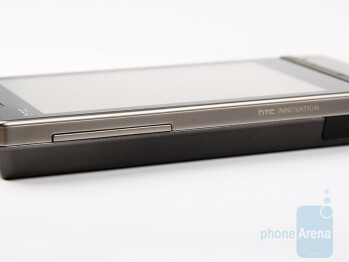 Top - The keys on the sides of the HTC Touch Diamond2 - HTC Touch Diamond2 Review