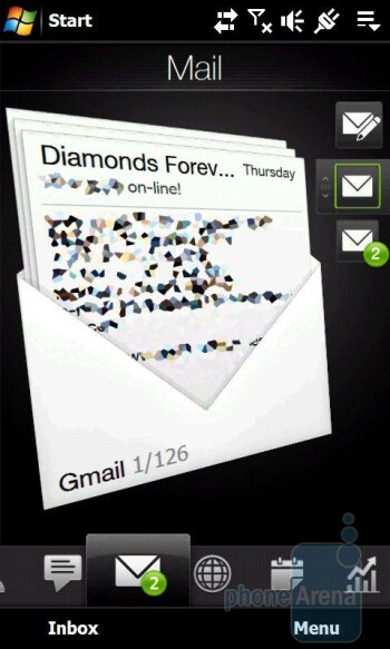 Email - HTC Touch Diamond2 Review