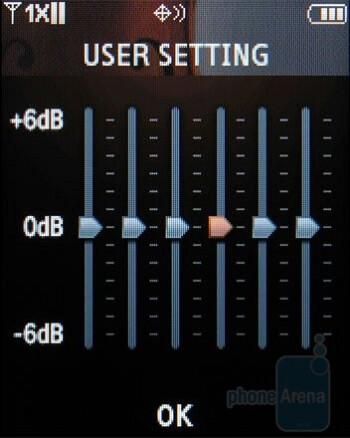 The Samsung U490 has a good music player - Samsung Trance U490 Review