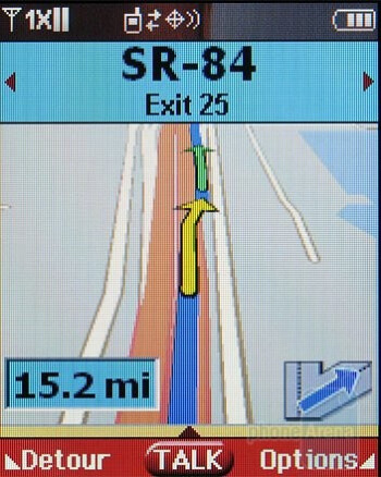 You can use Mobile Web and VZ Navigator on the Samsung Trance U490 - Samsung Trance U490 Review