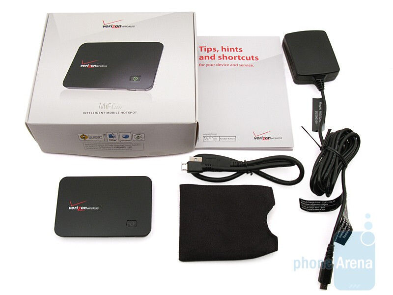 verizon mifi 2200 review rh phonearena com MiFi Device Verizon MiFi 2200 Manual