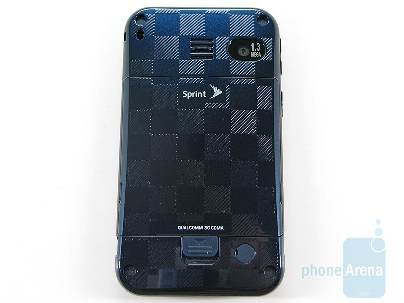 The back with checkerboard pattern - Sanyo SCP-2700 Review