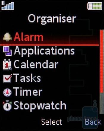 Organizer - Sony Ericsson W395 Review