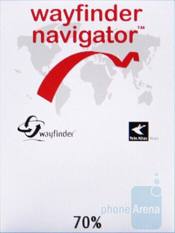 Wayfinder Navigator - Sony Ericsson C702 comes preloaded with some decent navigation apps - Sony Ericsson C702 Review