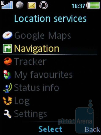 Navigation apps - Sony Ericsson C702 comes preloaded with some decent navigation apps - Sony Ericsson C702 Review