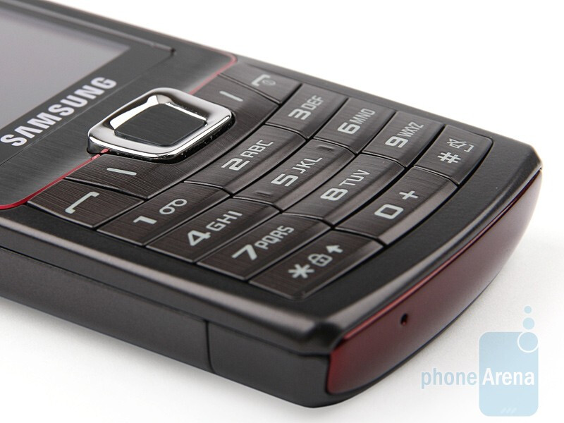 The numeric keyboard on the Samsung Ultra B S7220 - Samsung Ultra B S7220 Review