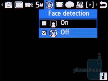 Camera interface - Samsung Ultra B S7220 Review