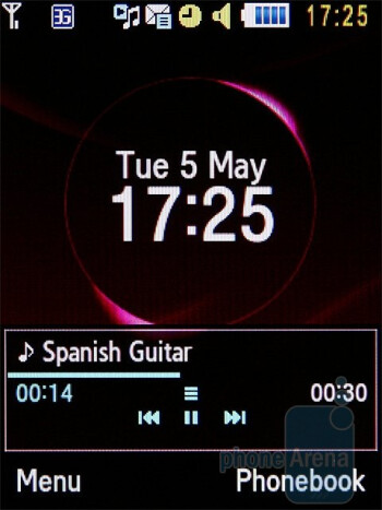 Playing music on the Samsung Ultra B S7220 - Samsung Ultra B S7220 Review