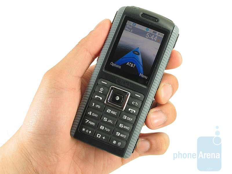 Every surface on the Samsung SGH-a657 gives off that rubbery feel - Samsung SGH-a657 Review