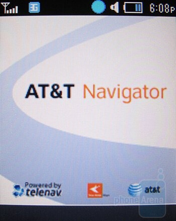 AT&T Navigator - Samsung SGH-a657 Review