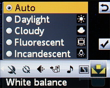 Camera interface - Sony Ericsson W302 Review