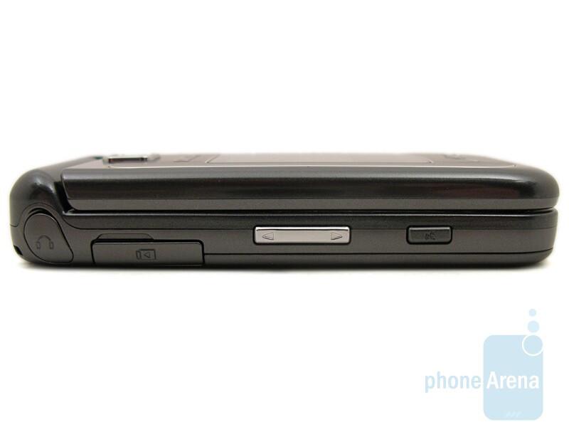 Left - Samsung Alias 2 U750 Review