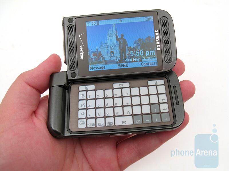 The Samsung Alias 2 U750 is slightly heavier than the original - Samsung Alias 2 U750 Review