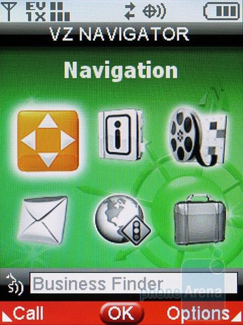 VZ Navigator - Samsung Alias 2 U750 Review