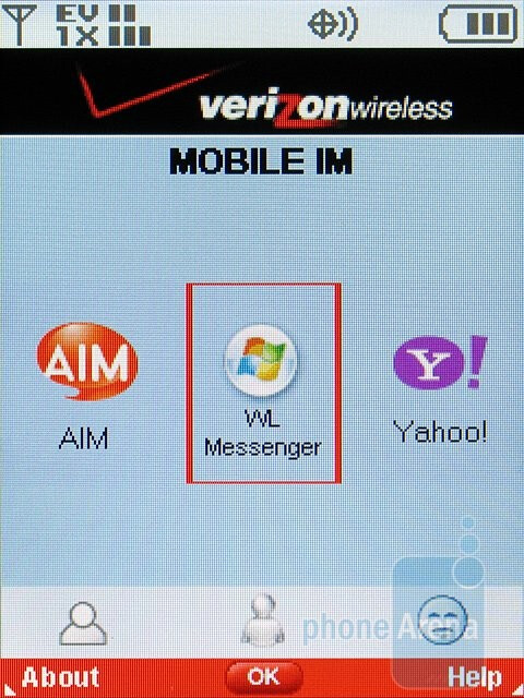 Mobile IM - Samsung Alias 2 U750 Review