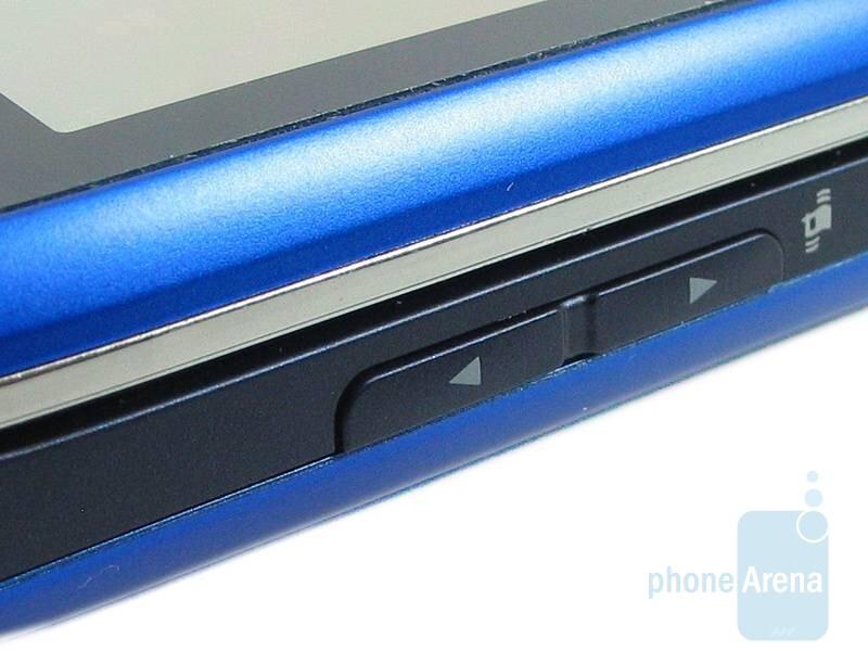 Volume rocker - LG Xenon GR500 Review