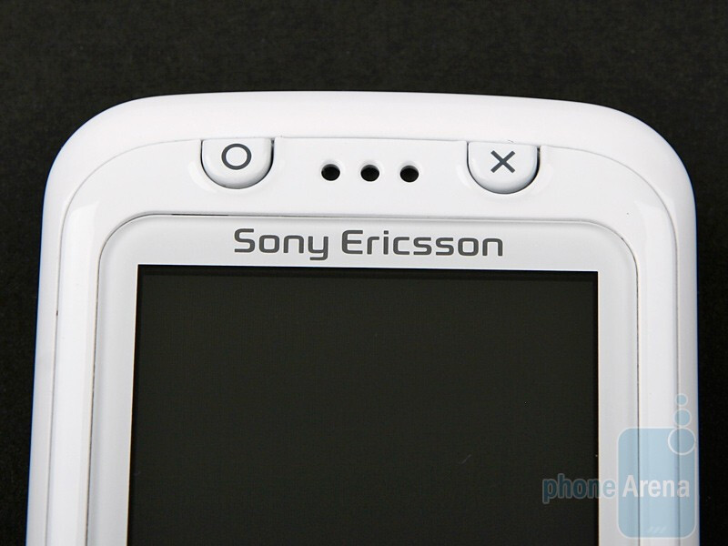 The gaming keys on the Sony Ericsson F305 - Sony Ericsson F305 Review