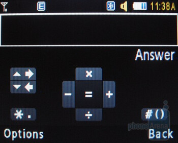 Calculator - Samsung Magnet a257 Review