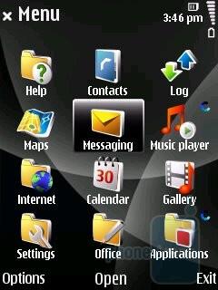 Main menu - Nokia 6220 classic Review
