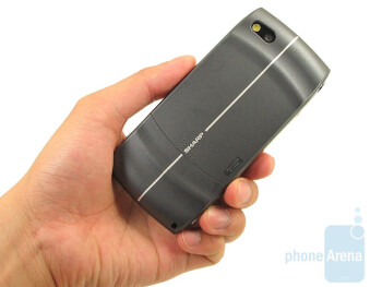 The T-Mobile Sidekick LX is pretty large device - T-Mobile Sidekick LX Review