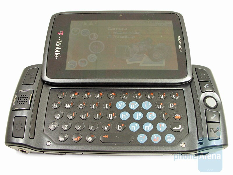 t-mobile sidekick lx software