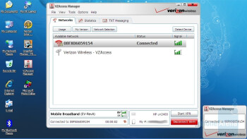 Verizon VZAccess Manager - HP Mini 1151NR Netbook Review