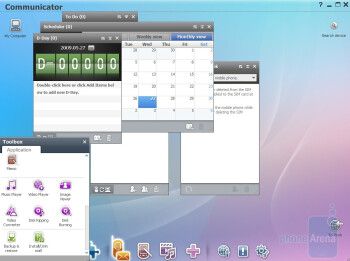 The Samsung PC Studio software pack is most interesting - Samsung Star S5230 Review