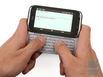 HTC Touch Pro2 delivers an excellent keyboard - HTC Touch Pro2 Review