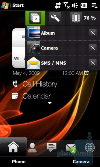 Task Manager - HTC Touch Pro2 Review