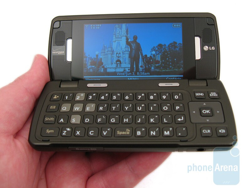 LG enV Touch VX11000 Review