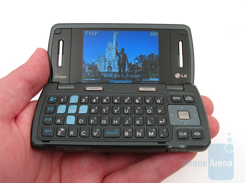 The LG enV3 VX9200 feels sturdy and should hold up to normal daily use - LG enV3 VX9200 Review