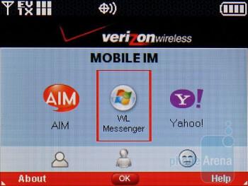 Mobile IM - LG enV3 VX9200 Review