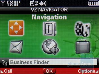 VZ Navigator - LG enV3 VX9200 Review