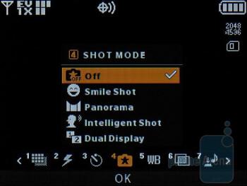 Camera interface - LG enV3 VX9200 Review