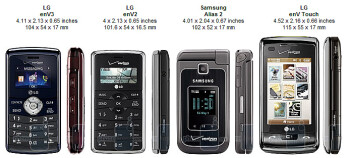 LG enV3 VX9200 Review