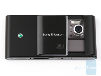 The 12MP camera of the Sony Ericsson Satio is hidden under a sliding cover - Sony Ericsson Satio Preview