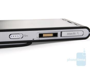 Left side - Sony Ericsson Satio Preview