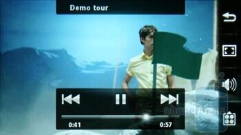 Watching videos on the Sony Ericsson Satio - Sony Ericsson Satio Preview