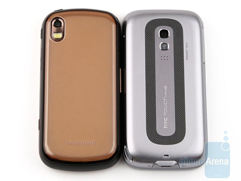 Samsung Giorgio Armani B7620 compared to HTC Touch Pro2 - Samsung Giorgio Armani B7620 Preview