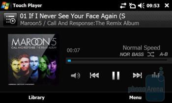 TouchPlayer - Samsung Giorgio Armani B7620 Preview
